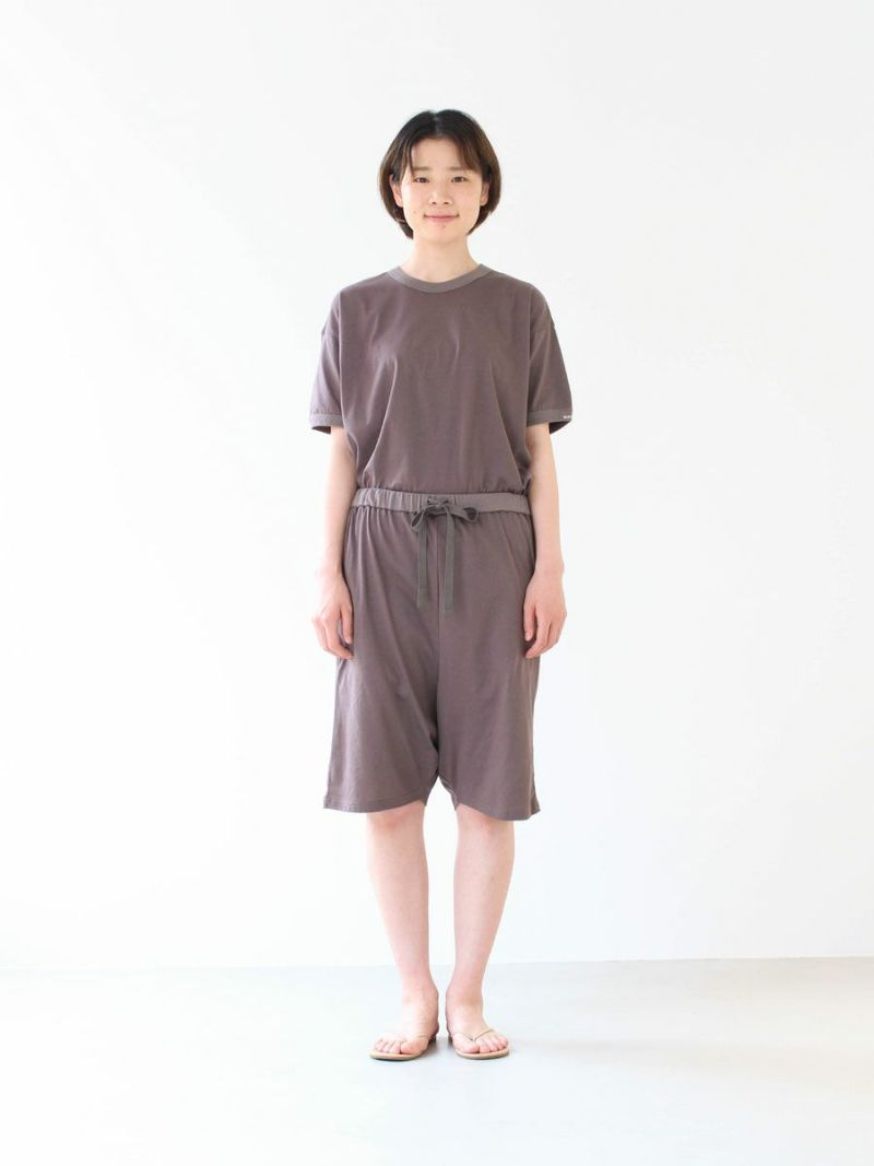 【slowlife wear】MidiUmi サルエルハーフパンツ