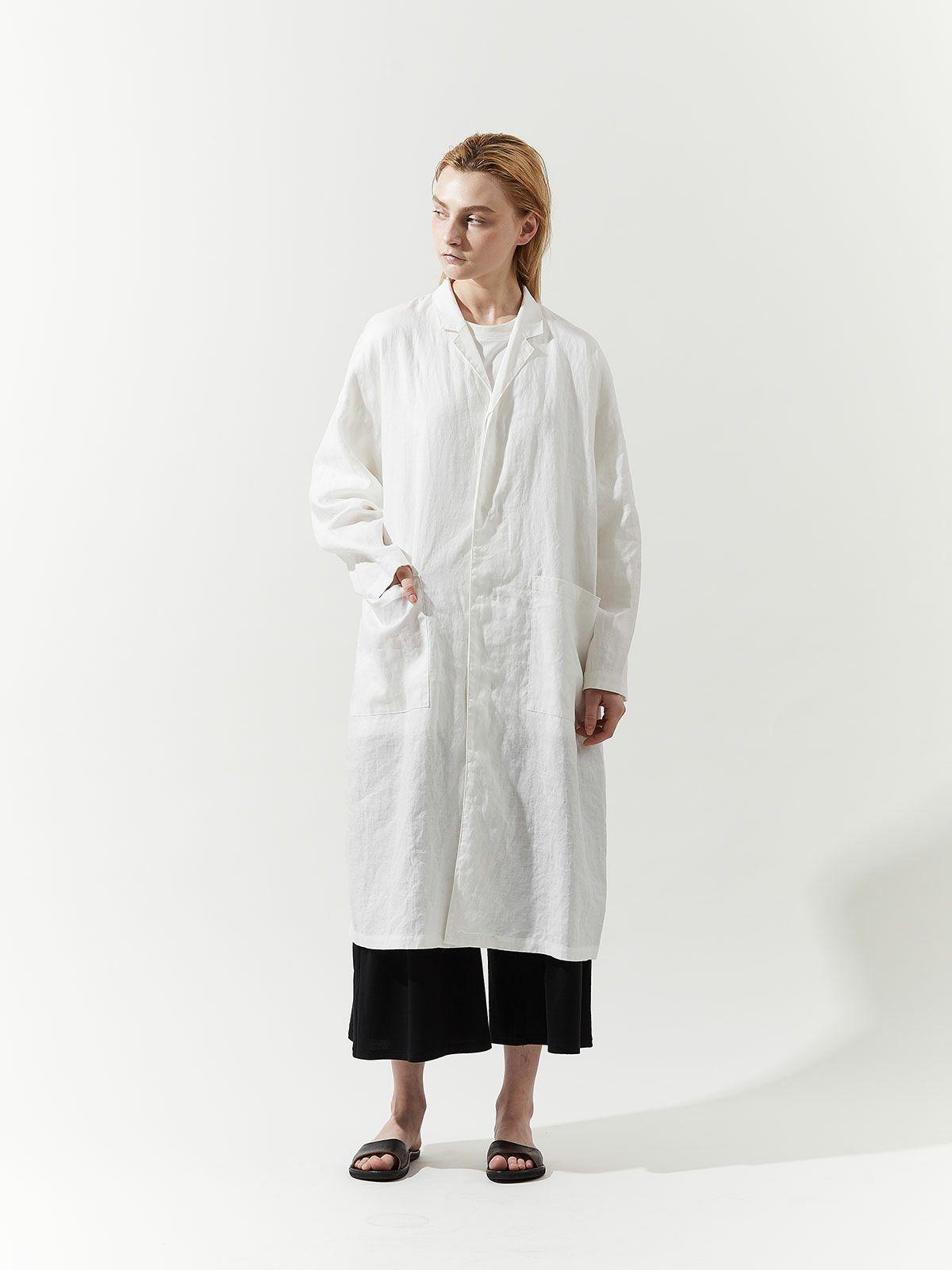 linen shirt coat