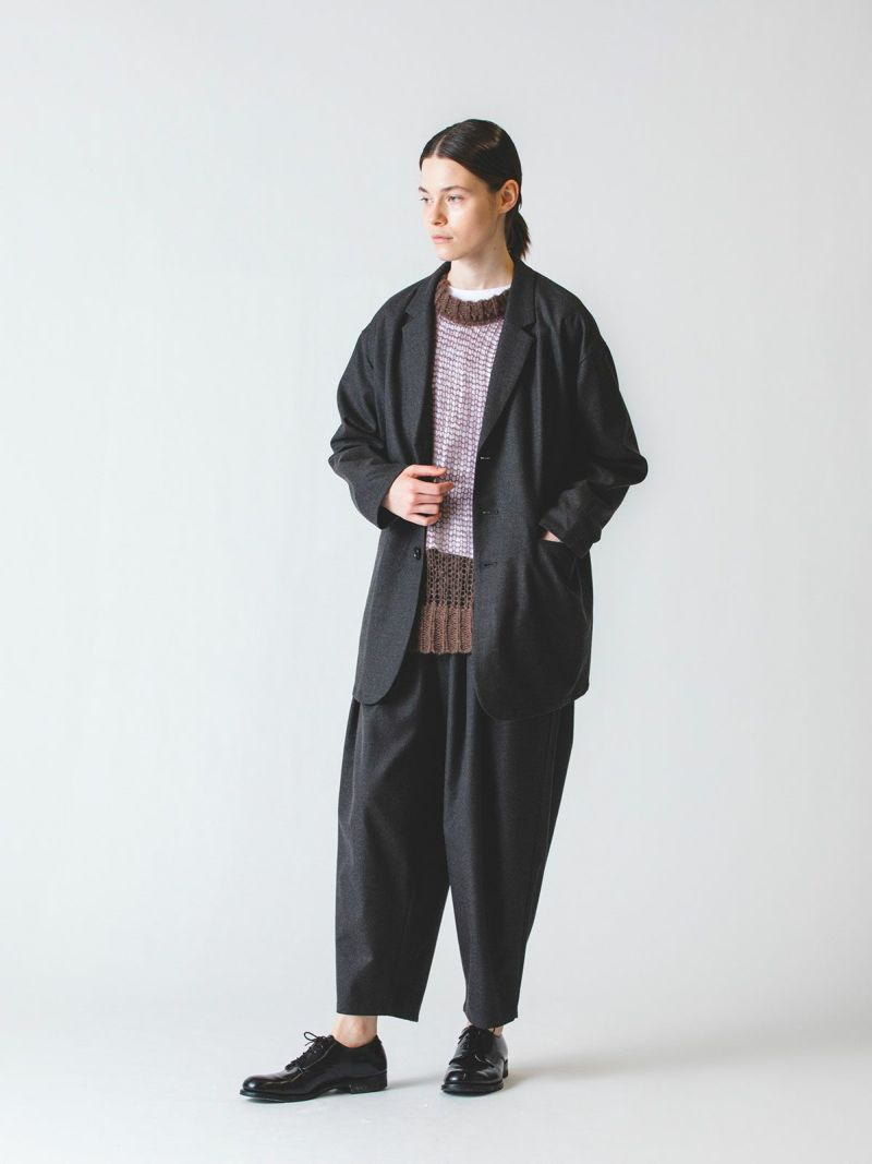 wide tailored JK / c.gray