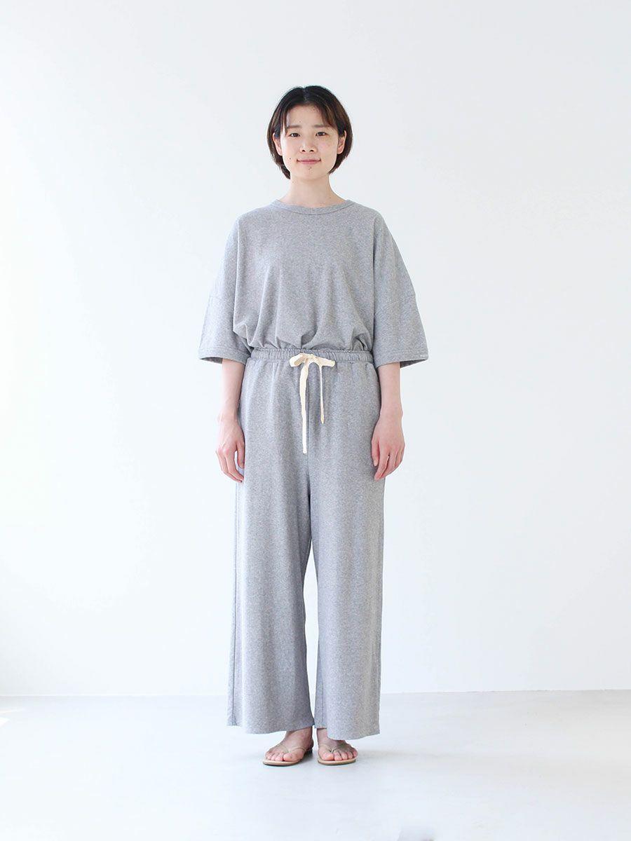 【slowlife wear】MidiUmi ワイドイージーパンツ