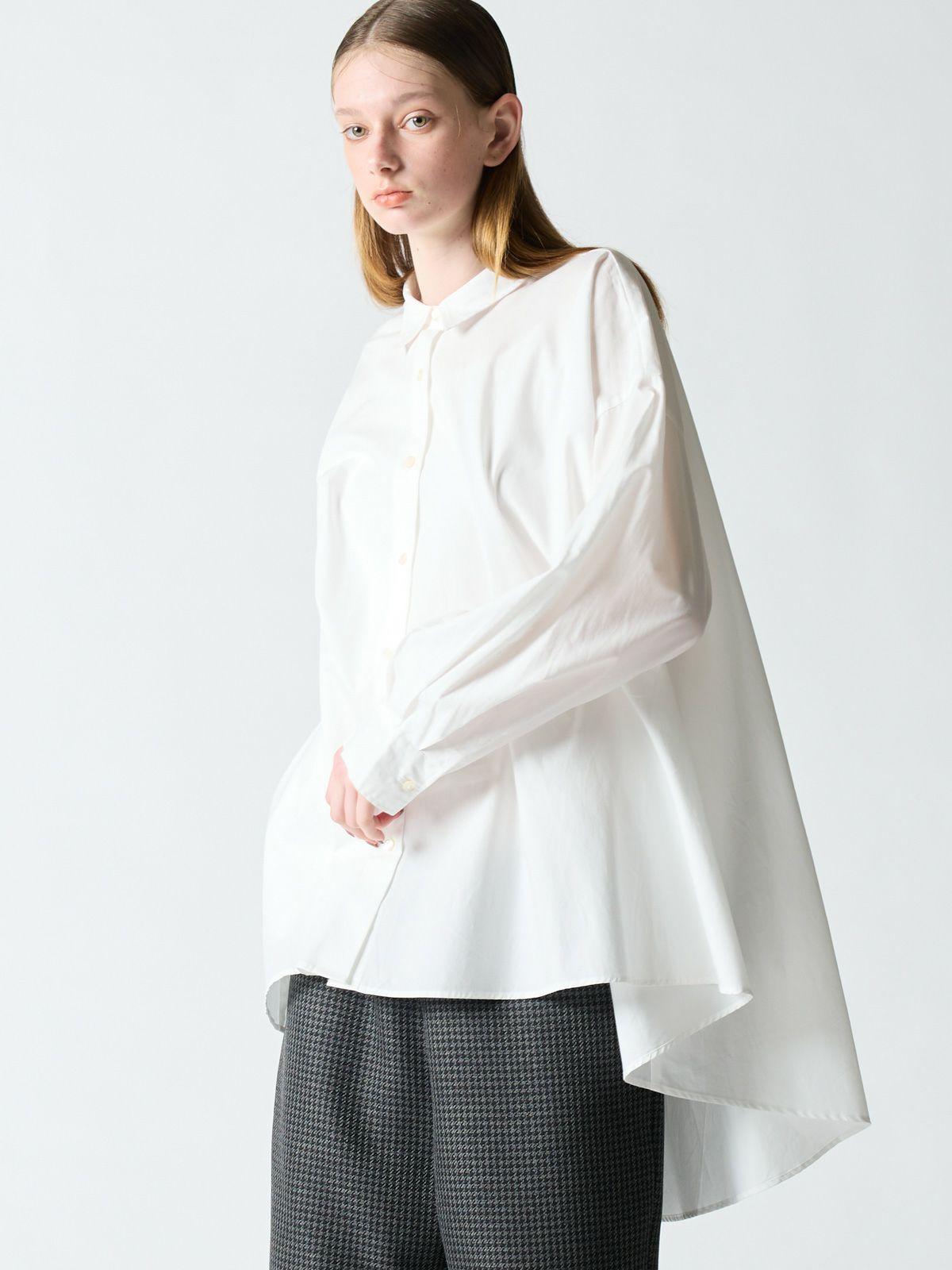 【2020AW新作】mizuiro ind ワイドシャツ