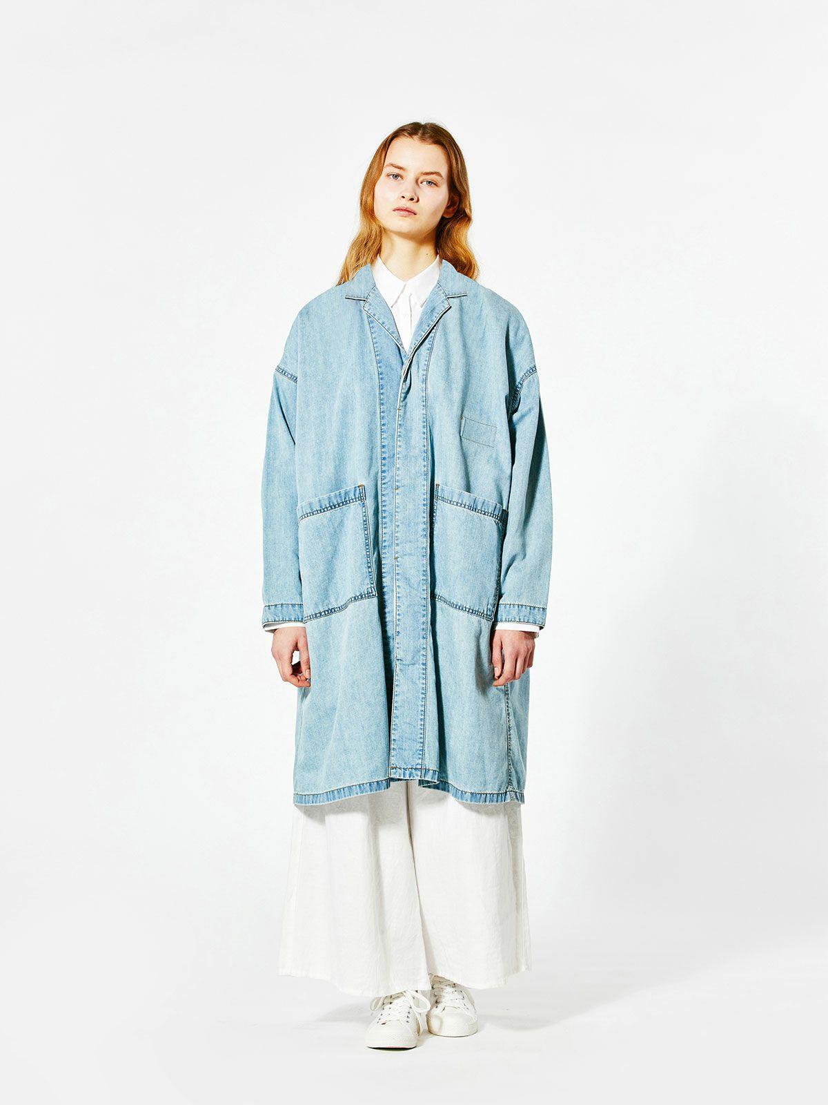 denim shirt coat
