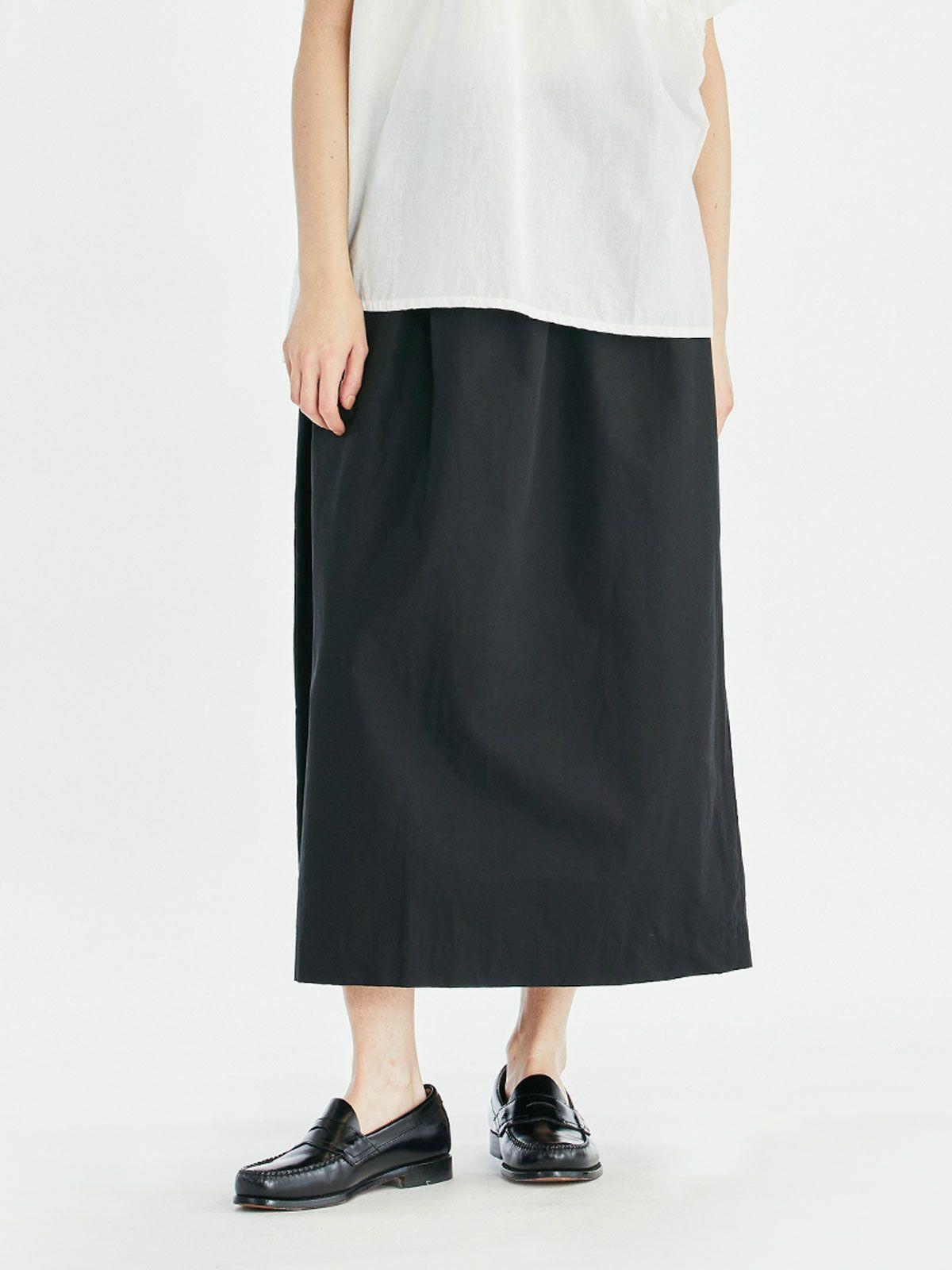 サイドリボンロングスカート